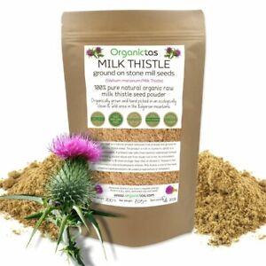 MILK THISTLE Seed Powder Organic (Silybum Marianum) Liver Detox Antioxidant 200g