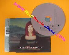CD singolo CHER DOV'E' L'AMORE 1999 no mc lp vhs dvd (S6)