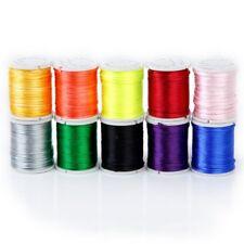 10 Rotoli cavo mescolati in Nylon di perle di colore catena filo per l'arti Y3J3