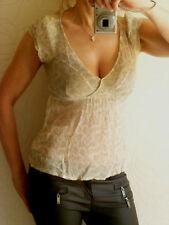 edc Esprit: sexy Shirt Tunika Bluse Top Chiffon Top XS/S 36/38 - wie neu