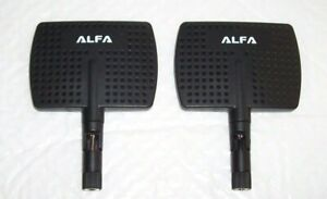 ALFA EXTENDED RANGE ANTENNA 7dBi RP-SMA 3DR Solo Remote DRONE Booster *EXCELENT*