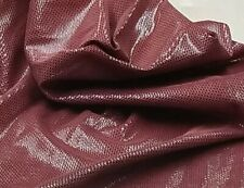 Brick Bow Tie Print Pig Skin Leather Crafts Lining Handbag Earrings Upholstery