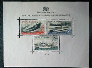 Edifil 781 Año 1938 Correo Submarino MNH