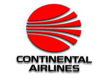 """Continental Airlines Red Logo 3.25""""x2.25"""" Collectibles Fridge Magnet (LM14076)"""