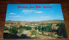 Vintage Postcard Greetings  Elko Nevada View Stockmans Hotel Casino