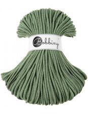 Bobbiny koord color: EUCALYPTUS GREEN /100% Cotton 5mm Bobbiny Rope 100m Macrame