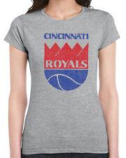 304 Royals womens T-shirt vintage cincinnati basketball sports jersey 70s retro
