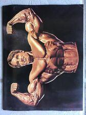 RARE 1994 IFBB Arnold Schwarzenegger Classic Ms International Program AUTOGRAPHS