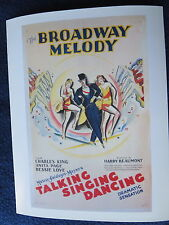 THE BROADWAY MELODY Oscar Best Picture Winner 1928/1929 MGM King Page Love