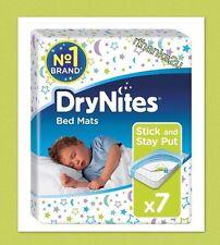 Huggies DryNites Bed Mats  - Pack Of 7 Mats - Mattress protectors - Dry Nights