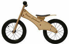 Prince Lionheart Children's Birch Wood Balance Bike w/ Adjustable Seat - O120