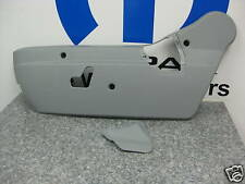 04-09 Dodge Durango Seat Trim Panel Cover Driver Left Power Gray Mopar Factory
