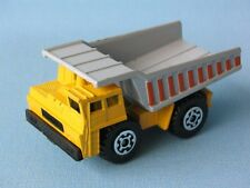 Matchbox Earth Mover Tipper Truck Yellow and Grey Boxed Toy Model