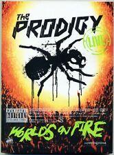 THE PRODIGY-LIVE WORLDS ON FIRE-JAPAN CD DVD K81 zd