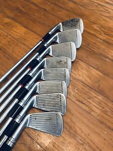 1964 Wilson Staff Dynapower Fluid Feel Golf Clubs Irons #3-9 Plus Pitching Wedge