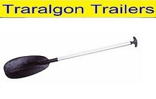 4 ft 128cm T-Grip paddle with Alum 32mm shaft 4ft Delux Oar boat canoe G274