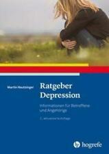 Ratgeber Depression   Informationen für Betroffene und Angehörige   Hautzinger