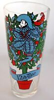 PEPSI Twelve Days of Christmas Tumbler Glass 12th Day Twelve Lords A Leaping