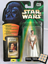Star Wars The Power of the Force Flash Back Princess Leia Carded Action Figure