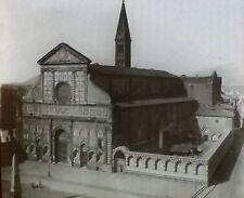Santa Maria Novella, Florence,Italy,Magic Lantern Glass Slide