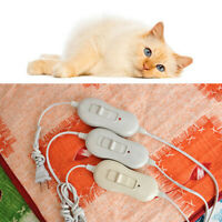 Pet Warm Electric-Heat Heated Pad Blanket Mat Bed For Dog New. Winter Cat N0O3