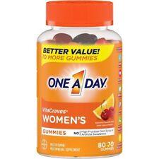 ONE A DAY WOMEN´S Vitacraves 80 Gummies Multivitamin.