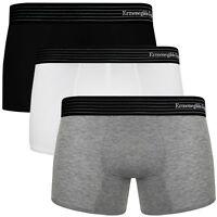 ERMENEGILDO ZEGNA Z20043 Luxury Men's Designer Soft Stretch Cotton Boxer Shorts