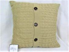"""1872 26"""" X 26"""" Cable Knit EURO PILLOWSHAM, TAUPE Euro RETAIL PRICE $160 NWT"""