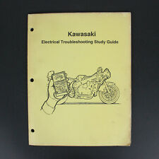 Kawasaki Electrical Troubleshooting Study Guide Motorcycle Service Manual 1991