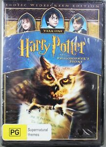HARRY POTTER & THE PHILOSOPHER'S STONE (2009: DVD) BRAND NEW /SEALED