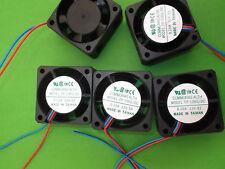 Fan 12 Vdc 40mm 12 Volt Fans Cooling 40x40x20mm Wires FP108G/DC12VS2S x 3pcs ONO