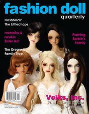 "WINTER 2014 ""The Family"" Issue - FASHION DOLL QUARTERLY FDQ MAGAZINE NEW"