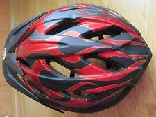2009 Blade Bell Bicycle Bike Youth Helmet Tf1Y M211Y Black w/ Red Flames