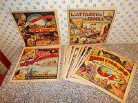 avventure di GORDON NERBINI 1957/58 SERIE COMPLETA 1/21 ORIGINALE OTTIMA