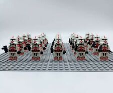 20x Shock Trooper Clone Troopers Mini Figures (LEGO STAR WARS Compatible)