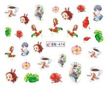 Nail Art Decals Transfers Stickers Cartoon Children (DB474)
