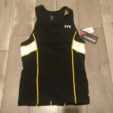 Tyr Male Carbon Tank Large Nwt