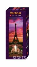 Heye Puzzles - Vertical , 1000 Pieces - Night in Paris