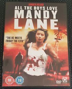 All The Boys Love Mandy Lane - Amber Heard. Horror . Region 2 DVD.