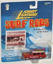 Johnny Lightning Surf Rods The Hang Ten 10 Men Rambler Wagon MOC Diecast 2000