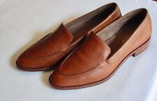 Aerosoles NWOB Caramel Leather Loafer Flats, Size 7.5 US