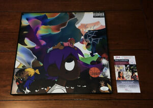 LIL UZI VERT SIGNED VS THE WORLD VINYL ALBUM SIZE PHOTO RAPPER AUTOGRAPH JSA COA