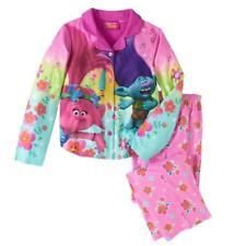 Trolls Girls 3-Piece Pajama Pant Set Size 4 6 8 10 $38