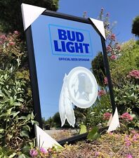 Bud Light Nfl Washington Redskins Football Beer Bar Mirror Man Cave Pub New