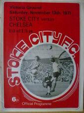 Stoke City Division 1 Home Teams S-Z Football Programmes