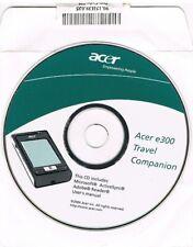 CD SOFTWARE ACER E300 TRAVEL COMPANION - ACTIVE SYNC - USER'S MANUAL