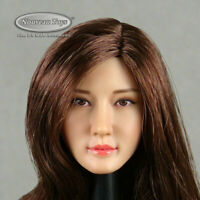 2015-16h 1:6 Female Head with Smooth Blow-Out Hair Cut US Seller
