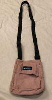 KAVU Small Pink Crossbody Bag Purse Pocketbook Front And Back Pocket Casual