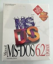 NEW SEALED Microsoft MS-DOS 6.2 Upgrade Operating System