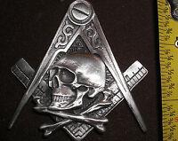 freemasons hiram abiff masonic bikers badge pin